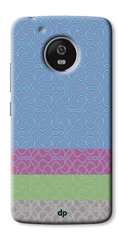 Digiprints Ethnic Colourful Design Printed Back Case Coover For Motorola Moto G5 Plus