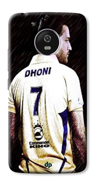 Digiprints Ms Dhoni Art Printed Back Case Cover For Motorola Moto G5 Plus