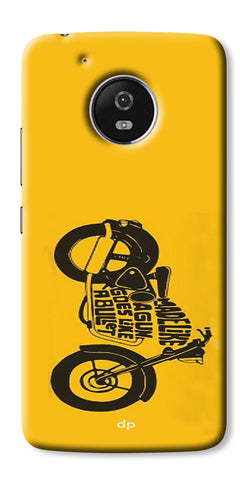 Digiprints Bullet Lover Printed Back Case Cover For Motorola Moto G5 Plus