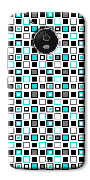 Digiprints Block Box Back Case Cover For Motorola Moto G5 Plus