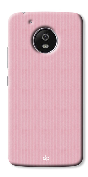 Digiprints Pink Pattern Printed Back Case Cover For Motorola Moto G5 Plus