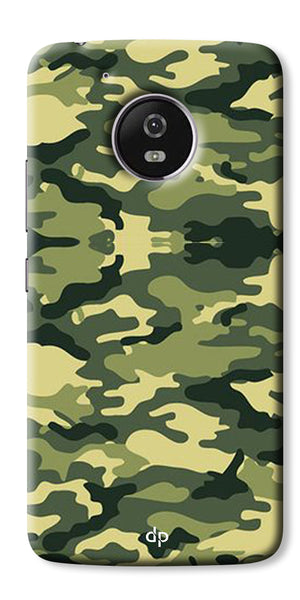 Digiprints Army Pattern Back Case Cover For Motorola Moto G5 Plus
