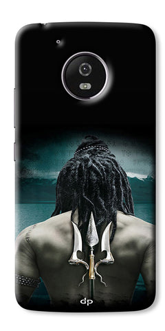 Digiprints Lord Shiva Back Case Cover For Motorola Moto G5 Plus