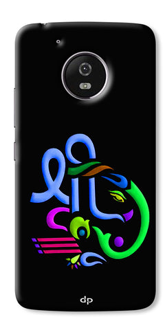 Digiprints Graphic Design Ganesha Back Case Cover For Motorola Moto G5 Plus