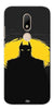 Digiprints Dark Knight Printed Back Case Cover For Motorola Moto M