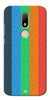 Digiprints Social Signs Colourful Pattern Back Case Cover For Motorola Moto M