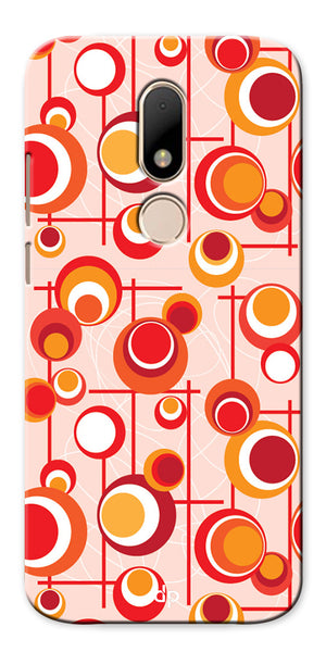 Digiprints Beautiful Geometric Patterns Back Case Cover For Motorola Moto M