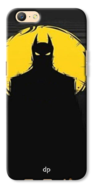 Digiprints Dark Knight Printed Back Case Cover For Oppo A57