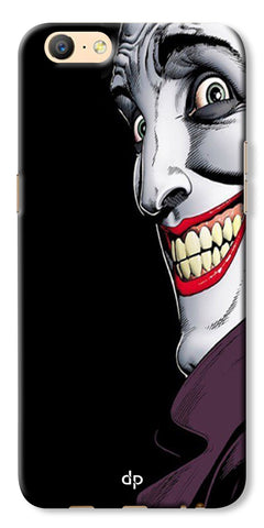 Digiprints The Joker Cartoon Printed Back Case Cover For Oppo A57