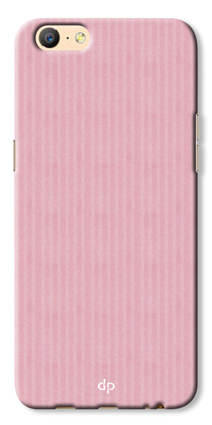 Digiprints Pink Pattern Printed Back Case Cover For Oppo A57
