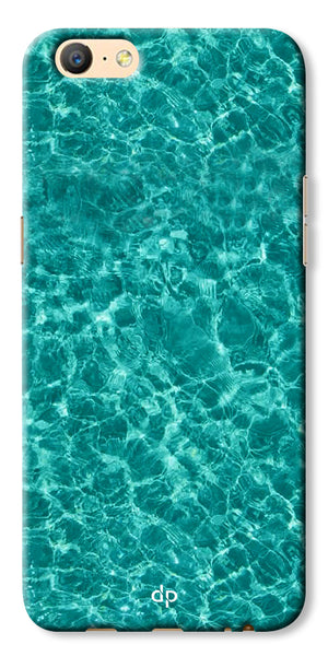 Digiprints Water Base Degin Printed Back Case Cover For Oppo A57