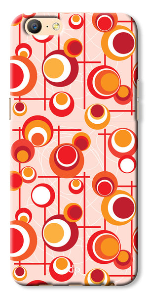 Digiprints Beautiful Geometric Patterns Back Case Cover For Oppo A57