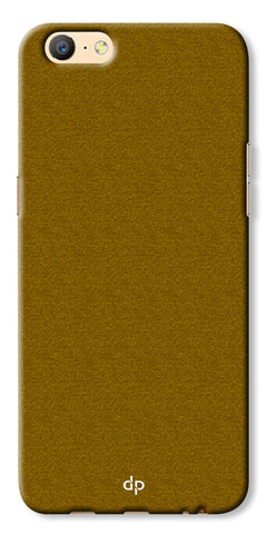 Digiprints Khaki Pattern Back Case For Oppo A57