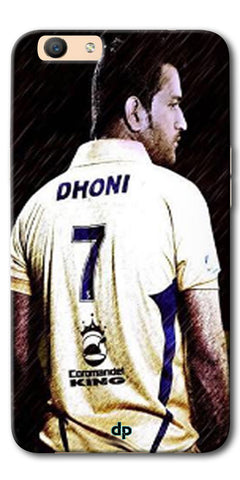 Digiprints Ms Dhoni Art Printed Back Case Cover For Oppo F1s
