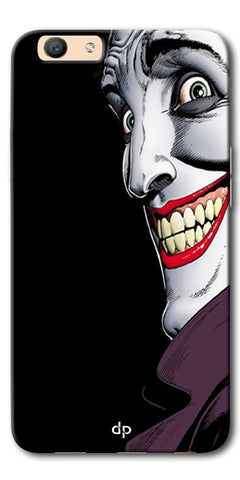 Digiprints The Joker Cartoon Printed Back Case Cover For Oppo F1s