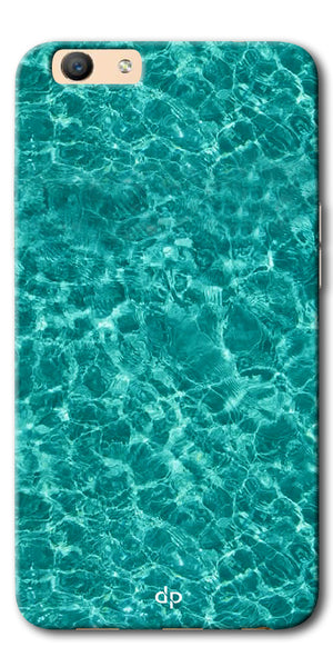 Digiprints Water Base Degin Printed Back Case Cover For Oppo F1s