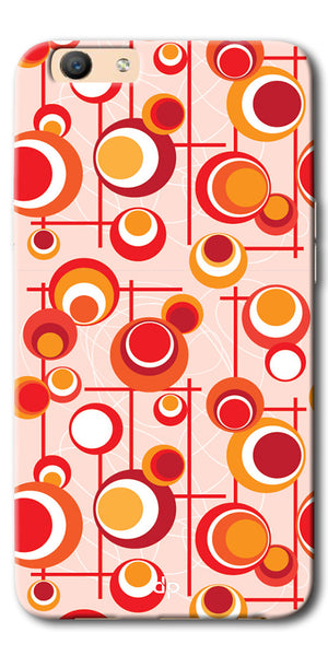 Digiprints Beautiful Geometric Patterns Back Case Cover For Oppo F1s