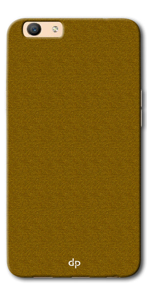 Digiprints Khaki Pattern Back Case For Oppo F1s
