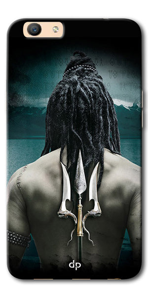 Digiprints Lord Shiva Back Case Cover For Oppo F1s
