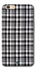 DigiprintsBlack Checks Printed Designer Back Case Cover For Oppo F3