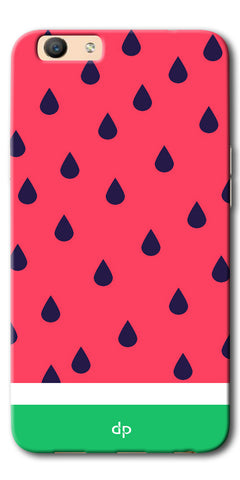 DigiprintsTropical Watermelon Designer Printed Back Case Cover For Oppo F3