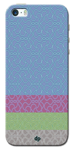 Digiprints Ethnic Colourful Design Printed Back Case Coover For Apple iPhone 5