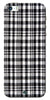 Digiprints Black Checks Printed Designer Back Case Cover For Apple iPhone 5S
