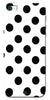 Digiprints Black Polka Dots Printed Back Case Cover For Apple iPhone 5