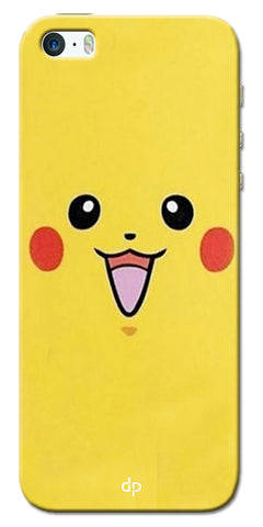Digiprints Pikachu Pokemon Back Case Cover For Apple iPhone 5