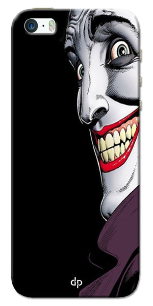 Digiprints The Joker Cartoon Printed Back Case Cover For Apple iPhone 5S