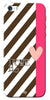 Digiprints Love Heart Printed Back Case Cover For Apple iPhone 5
