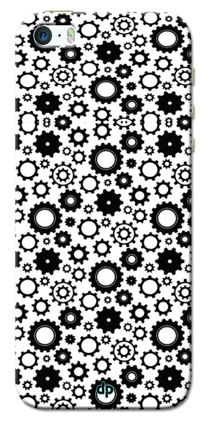 Digiprints Brain To Focus Compilation Patterns Back Case Cover For Apple iPhone 5