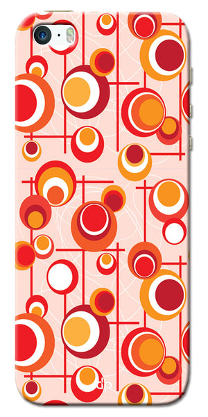 Digiprints Beautiful Geometric Patterns Back Case Cover For Apple iPhone 5
