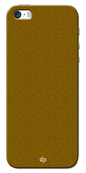 Digiprints Khaki Pattern Back Case For Apple iPhone 5S