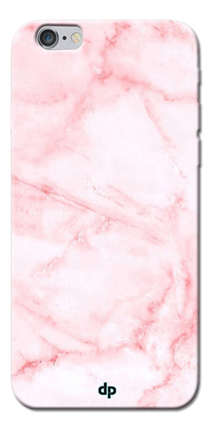 Digiprints Pink textured Marble Design 4 Printed Designer Back Case Cover For Apple iPhone 6s