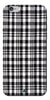 Digiprints Black Checks Printed Designer Back Case Cover For Apple iPhone 6s
