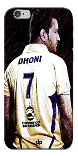 Digiprints Ms Dhoni Art Printed Back Case Cover For Apple iPhone 6s