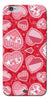 Digiprints Beautiful Pink Heart Design Printed Back Case Cover For Apple iPhone 6s