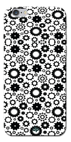 Digiprints Brain To Focus Compilation Patterns Back Case Cover For Apple iPhone 6