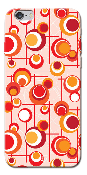 Digiprints Beautiful Geometric Patterns Back Case Cover For Apple iPhone 6