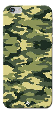 Digiprints Army Pattern Back Case Cover For Apple iPhone 6