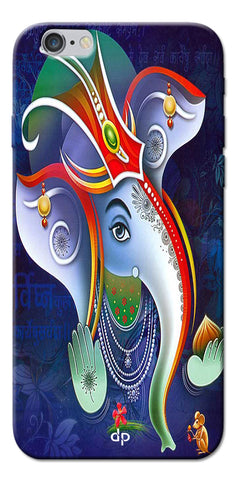 Digiprints Lord Ganesha Back Case For Apple iPhone 6