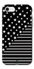 Digiprints Star And Strips On Black Printed Back Case Cover For Apple iPhone 7