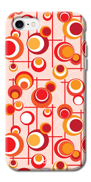 Digiprints Beautiful Geometric Patterns Back Case Cover For Apple iPhone 7
