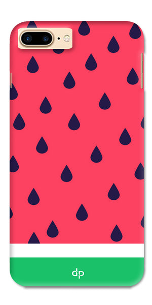 Digiprints Tropical Watermelon Designer Printed Back Case Cover For Apple iPhone 7 Plus