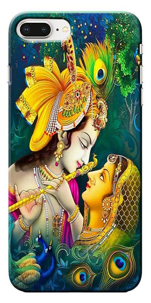 Digiprints Radha Krishna Design 1 Printed Designer Back Case Cover For Apple iPhone 8 Plus