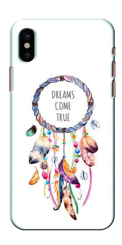 Digiprints Dream Come True Printed Designer Back Case Cover For Apple iPhone X