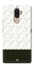 Digiprints Blak And White Art Printed Back Case Cover For Lenovo K8 Note