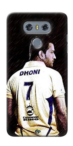 Digiprints Ms Dhoni Art Printed Back Case Cover ForLG G6