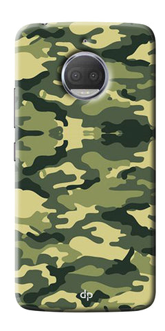 Army Pattern Back Case Cover For Motorola Moto G5S Plus